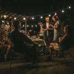 Bistro Lighting & Small Lights Add Romance