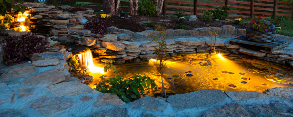 Illuminate Water Features for That Resort Feel