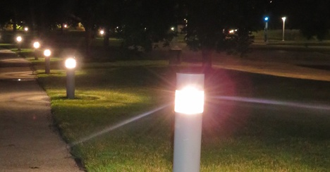 LED Parking Lot and Walkway Lights Promote Safety