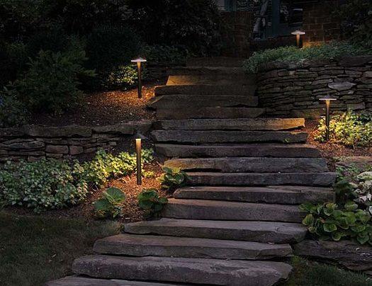 Lanterns & Pathway Lights Create Charm & Safety