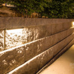 Underlighting Hardscapes for Function & Splendor